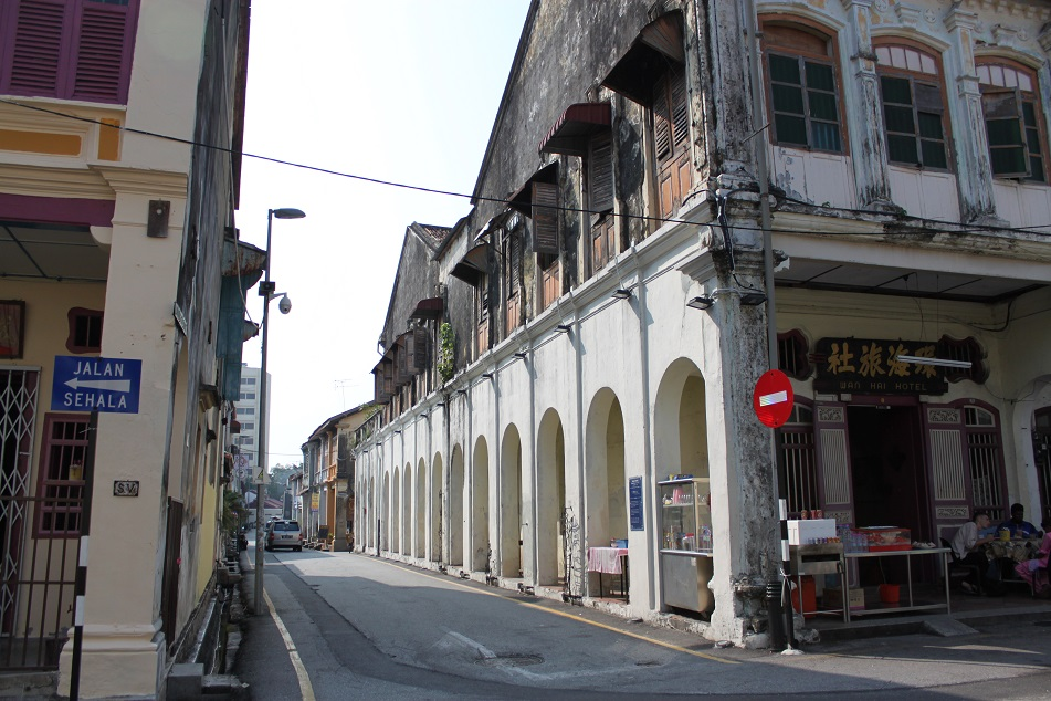 Penang's Atmospheric Alleys
