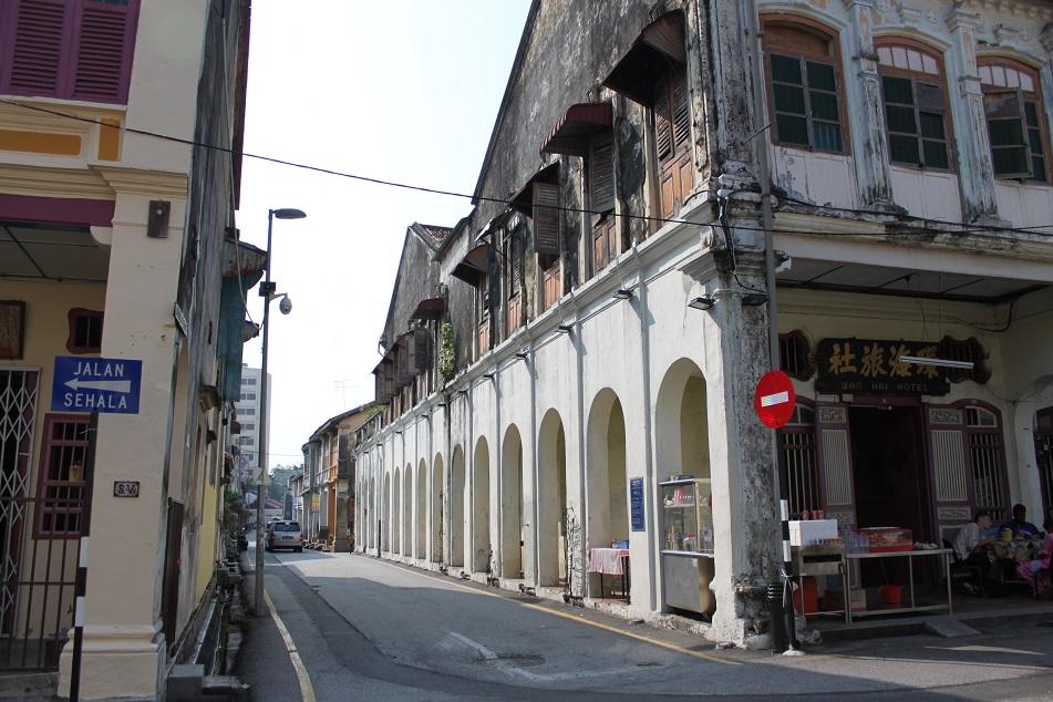 Penang's Atmospheric Alleys
