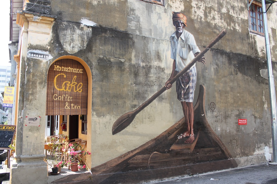 Indian Fisherman Mural