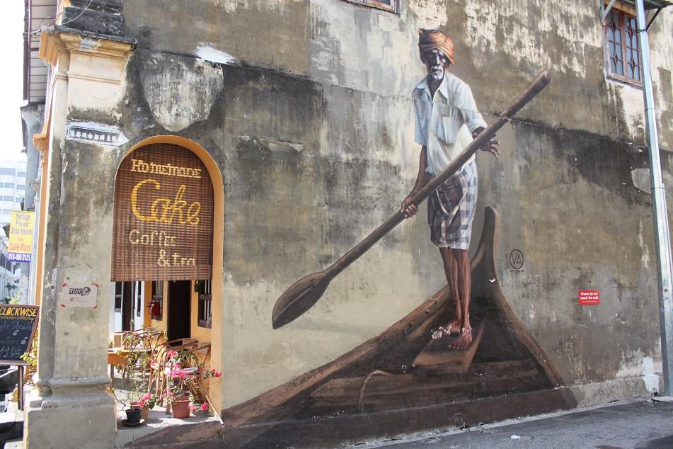 Indian Fisherman Mural