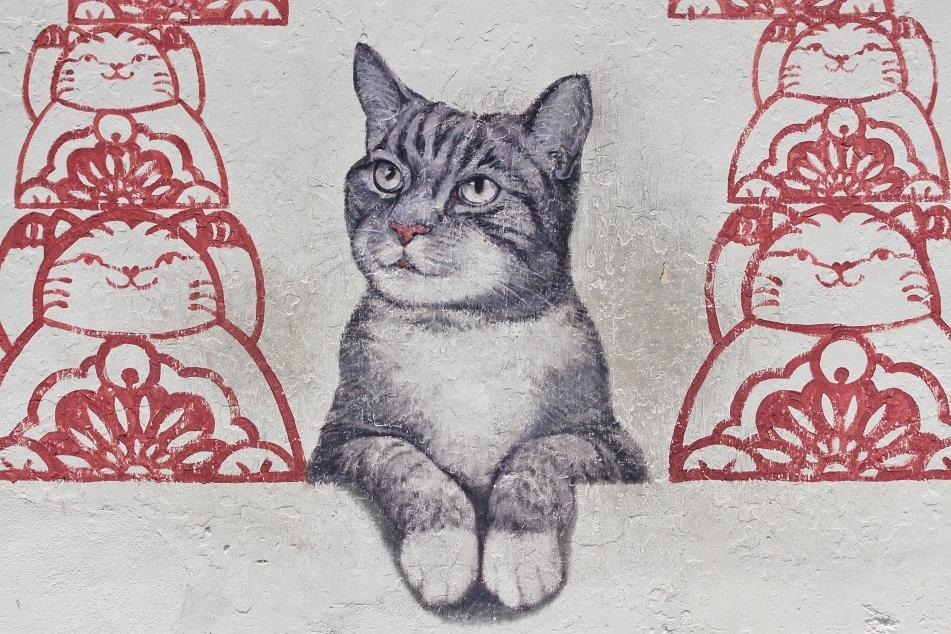 Cat Mural 2