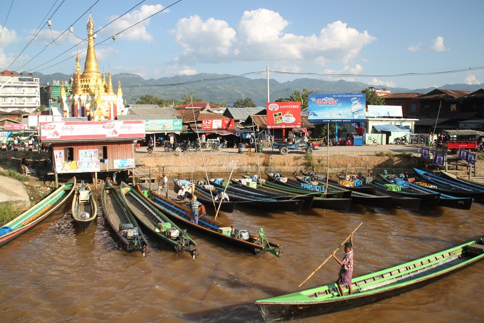Gate to Inle Lake